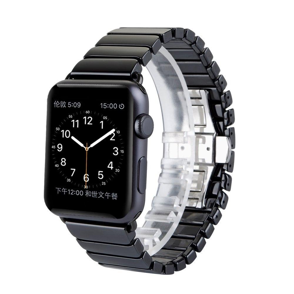 keramische vervangend bandje voor apple watch iwatch. Black Bedroom Furniture Sets. Home Design Ideas